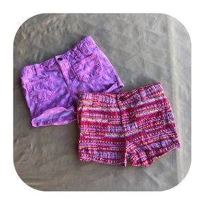 2 Toughskins Shorts Girls 4T